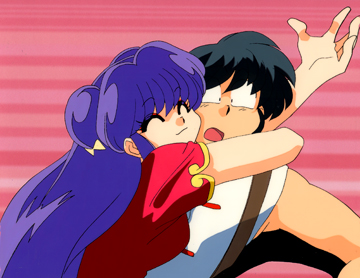 Shampoo Hugging Ranma Source OVA Layers 1 No Sketches Available Standard Size Opening Cel